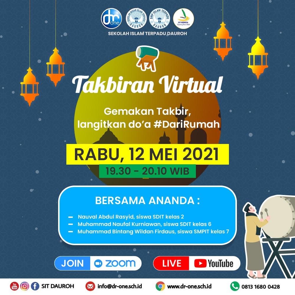 Takbiran Virtual 2021